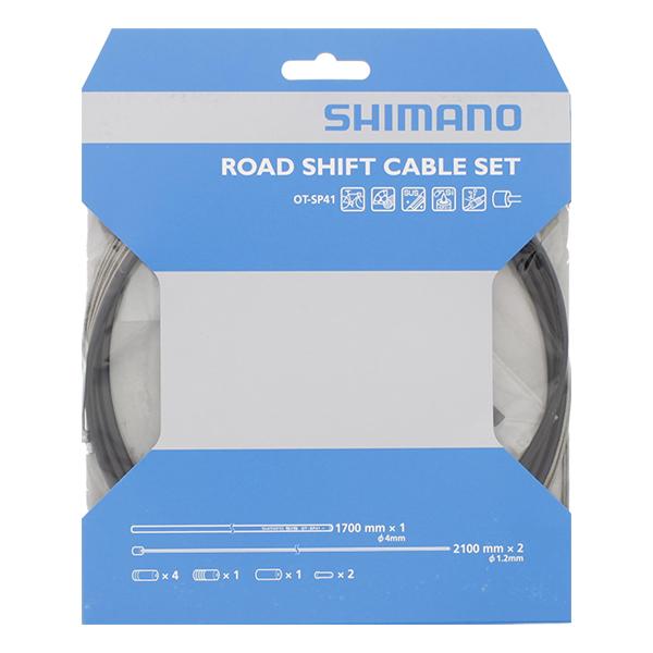 Shimano - Rustfri   gear cable