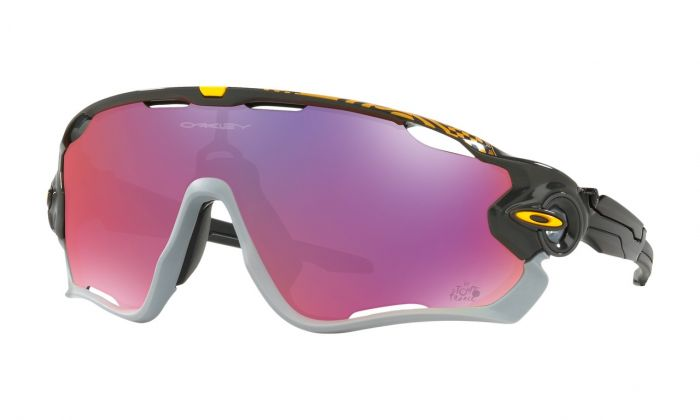Oakley Jawbreaker Tour de France 2018 Edition cykelbrille - Carbon/Prizm road