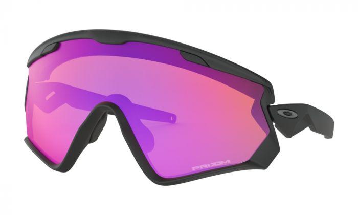 Oakley Wind Jacket® 2.0 cykelbriller - Matte black - Prizm trail