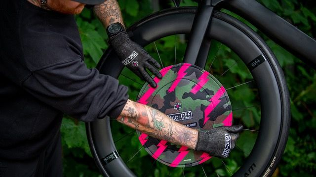 Muc-Off Disc Brake Cover til skivebremser - Camo