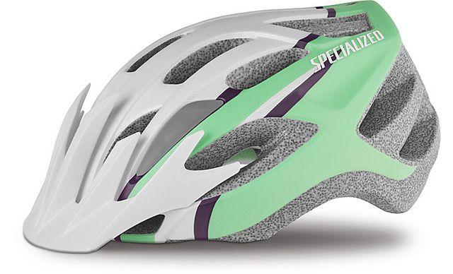 Specialized Sierra cykelhjelm til damer - Gloss Acid Pink Arc