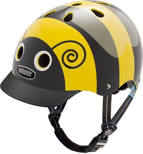 Nutcase Little Nutty GEN3 cykelhjelm til børn - Bumblebee