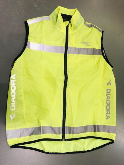Diadora Promotion Vest - Neon gul med reflekser
