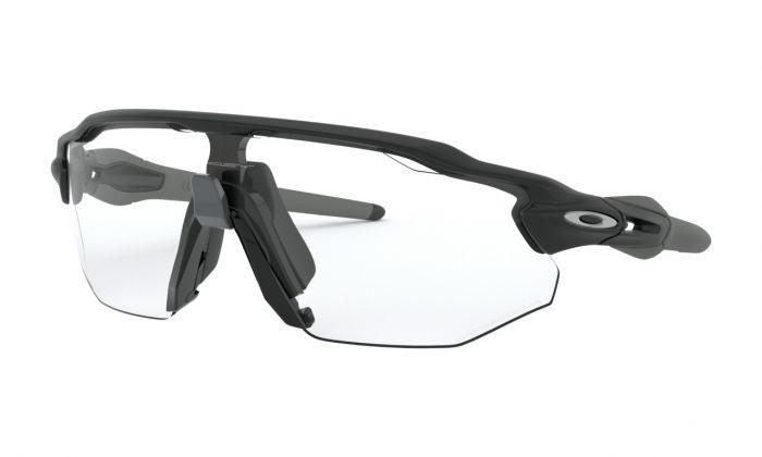 Oakley Radar™ Ev Advancer solbriller - Matte black/clear black iridium photochromic