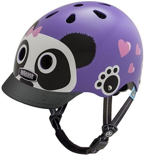 Nutcase Little Nutty GEN3 cykelhjelm til børn - Purple Panda