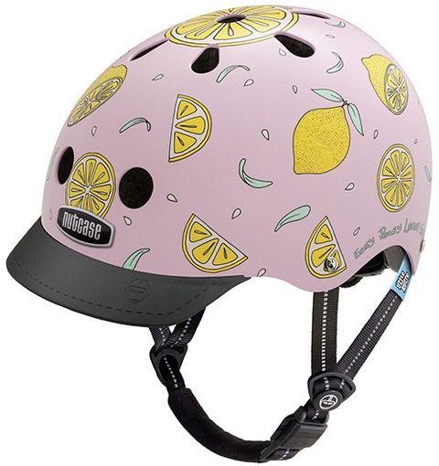 Nutcase Little Nutty GEN3 cykelhjelm til børn - Pink lemonade
