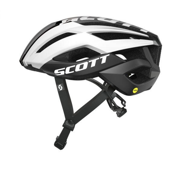 Scott ARX plus helmet MIPS cykelhjelm - Sort/hvid