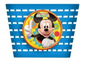 Widek cykelkurv til børn - Mickey mouse blå