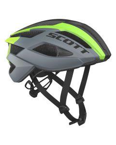 Scott Arx Helmet cykelhjelm - Mørk grå/grøn
