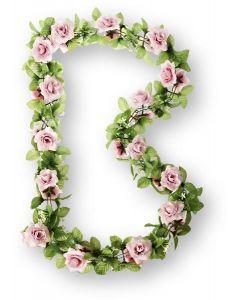 Basil blomsterranke -  Pink rose