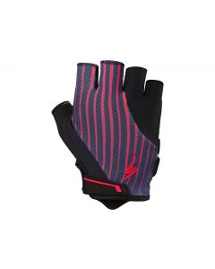 Specialized Women's Body Geometry Gel Gloves cykelhandske til damer - Acid Red/Line Fade