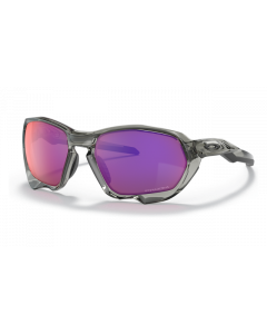 Oakley Plazma Matte Carbon Sportsbrille - Grey Ink - Prizm road