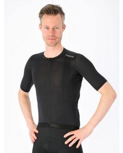 Fusion Mens Cycling Jersey Cykeltrøje - Black