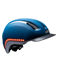 Nutcase VIO MIPS led cykelhjelm - Navy