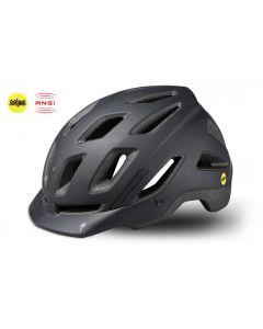 Specialized Ambush Comp e-Bike cykelhjelm med ANGi - Black/Charcoal