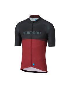 Shimano Tam Jersey cykeltrøje med korte ærmer - Rød
