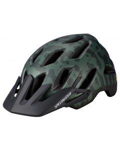 Specialized Ambush Comp MTB cykelhjelm med ANGi og MIPS - Sage Green/Black Terrain
