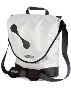 Ortlieb City-shopper lightgrey-black 10 liter cykeltaske - Hvid
