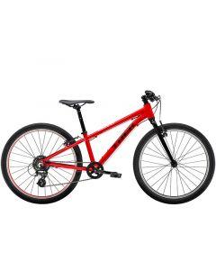 """Trek Wahoo 24"""" børnecykel MTB - Viper Red/Trek Black"""