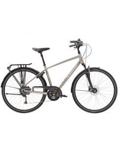TREK Verve 3 Equipped Herre cykel - Metallic Gunmetal