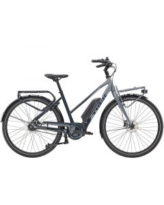 Trek District+ 2 Stagger 400 WH Dame Elcykel - Nautical Navy and Slate