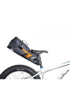 Ortlieb Seat-Pack L sadeltaske 16,5 liter - Slate grå