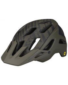 Specialized Ambush MTB cykelhjelm med ANGi og MIPS - Satin Oak Green Wild