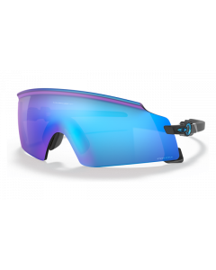 Oakley Kato X Sportsbrille - Polished Black-Prizm Sapphire