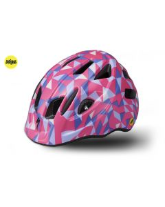 Specialized MIO MIPS cykelhjelm til børn - Acid Pink Geo