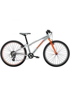 """Trek Wahoo 24"""" børnecykel MTB - Quicksilver/orange"""