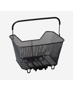 Racktime Baskit Basket 20 liter cykelkurv - Sort