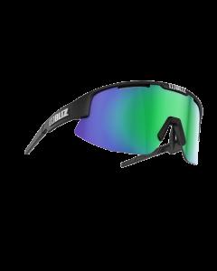 Bliz Matrix solbriller til sport - Black frame/Brown with green multi lens