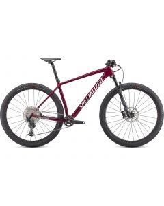 Specialized Epic HT Mountainbike - Gloss Rasberry/Metallic White Silver
