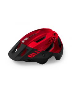Bluegrass MTB/Trail/Enduro Rogue MIPS cykelhjelm - Metallic Red/Matt Glossy