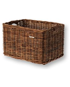 Basil Basket Front L Rattan - Nature Brown