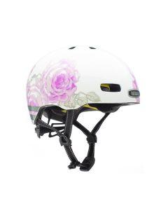 Nutcase Street med MIPS cykelhjelm - Delicate Flower Reflective