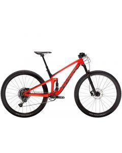 Trek Top Fuel 9.7 MTB - Gloss Red/Matte Carbon Smoke