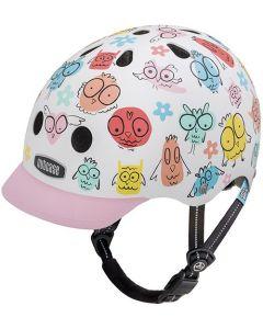 Nutcase Little Nutty GEN3 cykelhjelm til børn - Owl Party