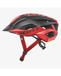 Scott ARX MTB Plus cykelhjelm med MIPS - Red black
