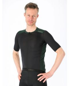 Fusion Mens Cycling Jersey Cykeltrøje - Green