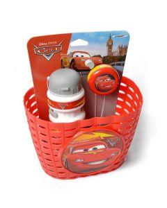 Disney CARS cykelKurv, Flaske og klokke