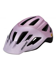 Specialized Shuffle youth led cykelhjelm til børn med lys og MIPS - UV Lilac/Dusty Lilac Accel