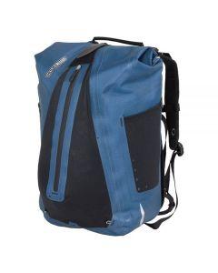 Ortlieb Vario vandtæt cykeltaske rygsæk - Steel blue