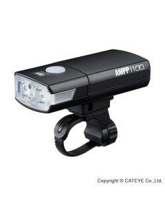Cateye AMPP1100 HL-EL1100RC USB opl. 1100 lumen - Forlygte