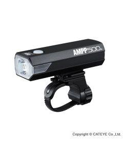 Cateye AMPP500 HL-EL085RC USB opl. 500 lumen - forlygte