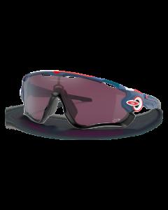 Oakley Jawbreaker Tour De France Collection - Matte Poseidon Prizm Road Black