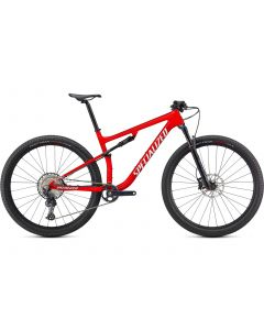 Specialized Epic Comp MTB - Gloss Flo Red w/ Red Ghost Perarl / Metallic White Silver