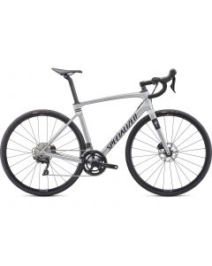 Specialized Roubaix Sport landevejscykel - Satin Flake Silver/Black