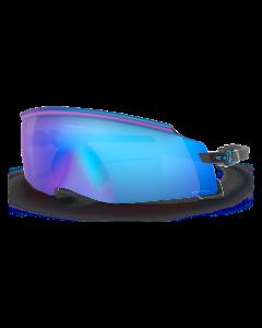 Oakley Kato Solbrille - Polished Black-Prizm Sapphire