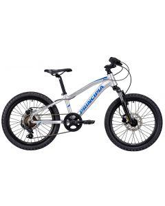 Principia A2.0 20 Børnecykel MTB - Blank sølv